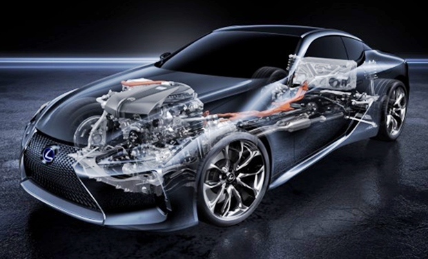 2018 Lexus LC 500 Review Canada