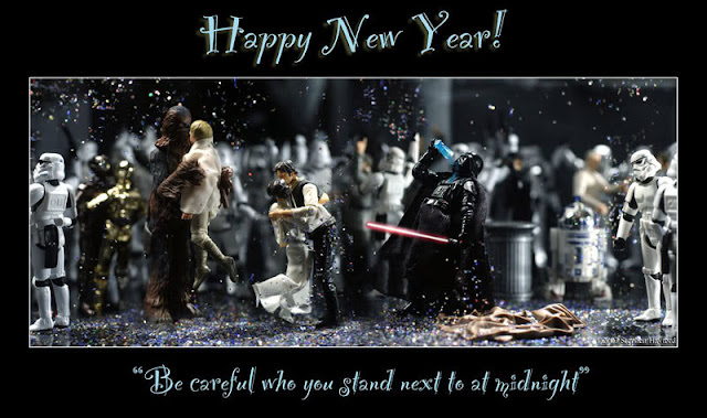 happy new year, 2013, star wars