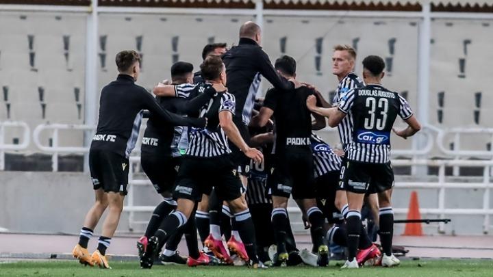 Κατέκτησε το κύπελλο ο ΠΑΟΚ - Ξέφρενοι πανηγυρισμοί στην Ξάνθη