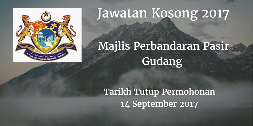 Jawatan Kosong MPPG 14 September 2017