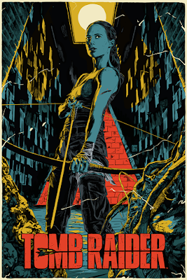 Tomb Raider Screen Print by Francesco Francavilla x Mondo