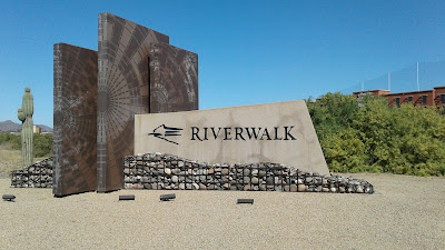 Riverwalk Monument Sign