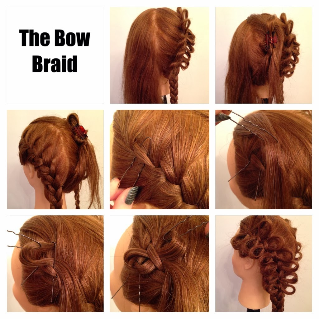 Hair Styles by Liberty: Bow Braids