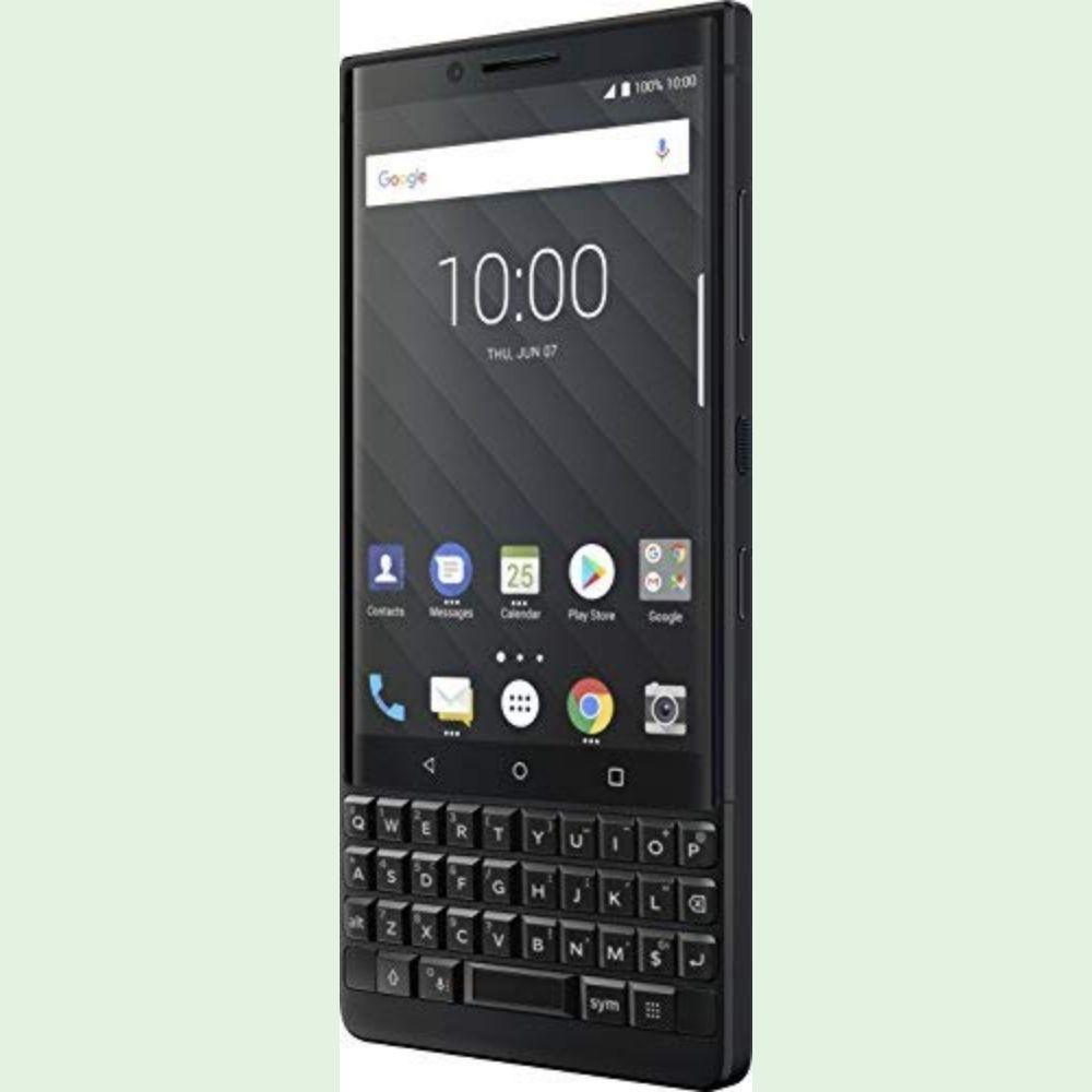 Oreo BlackBerry KEY2 Smartphone - Specs: 64GB/6GB Memory, 4G, 4.5-Inch Screen, Smart Keyboard, 3500mAh Battery, Fingerprint