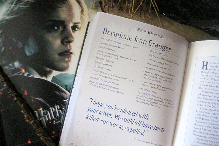 MuggleNet's Unofficial Harry Potter Character Compendium