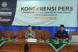 Konferensi Pers PWM : Dampak Corona Multidimensi, Muhammadiyah Tak Boleh Abai