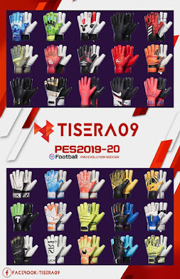 Glovepacks Update 20.02 For PES17-20 by Tisera09