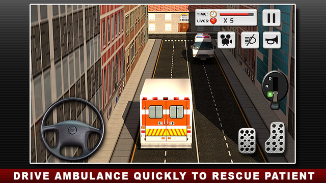 قيادة سيارة الاسعاف