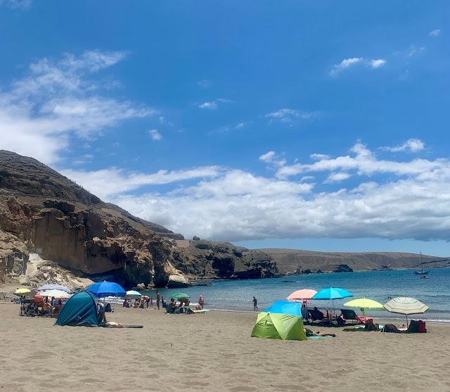 El Pajar - Playa de Santa Agueda