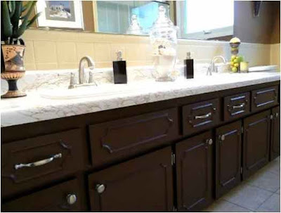 Bathroom Paint With Dark Cabinets