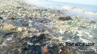Pantai Labuhan Haji Terus Digerogoti Sampah, Salah Siapa?