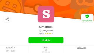 Cara Menggunakan APK Simontok