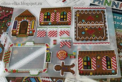 Пряничный домик - первый лист