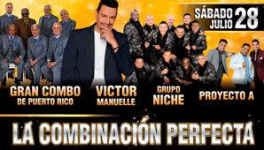 La Combinación Perfecta: Victor Manuelle, Grupo Niche y más…