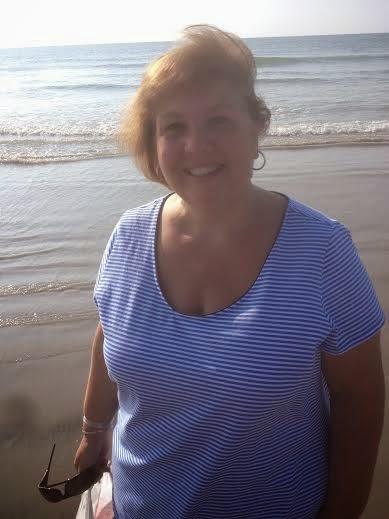 granny on beach