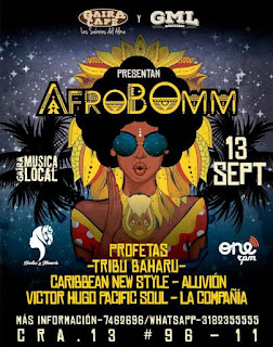 Súper Concierto AfroBOmm en Gaira Café