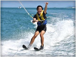 Waters ski di Bali