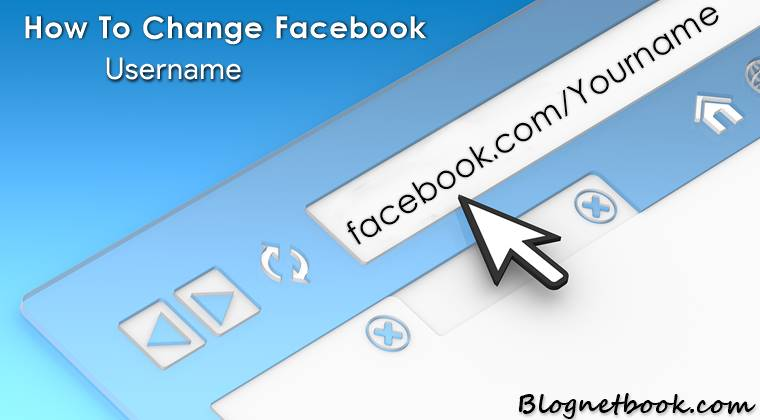 how to change facebook username in hindi