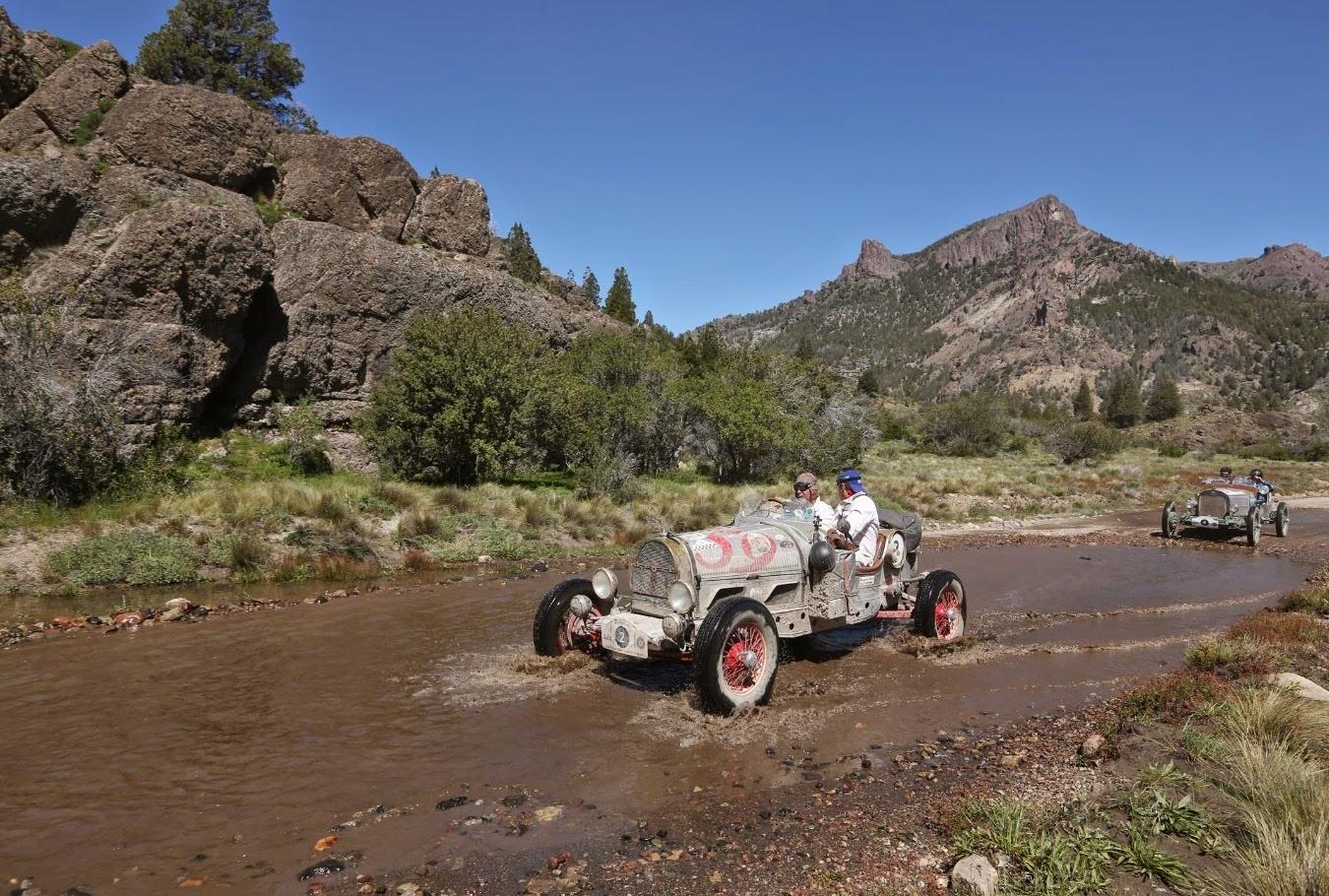 Quando o leito de um riacho se torna também um leito carroçável.
