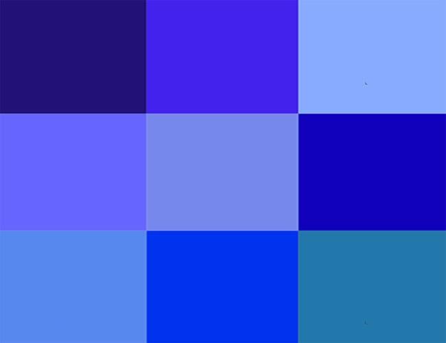 Kekuatan Warna Biru Untuk Membangun Sebuah Karakter