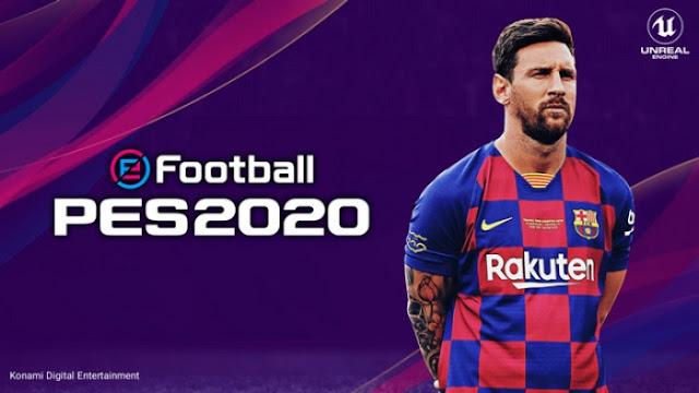 تحميل لعبة بيس 2020 للاندرويد مضغوطة بحجم خفيف eFootball PES 2020 v4.1.0 للاندرويد و الايفون
