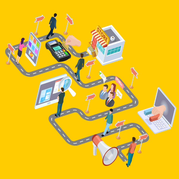 a customer journey map will help you set goals for your website redesign project