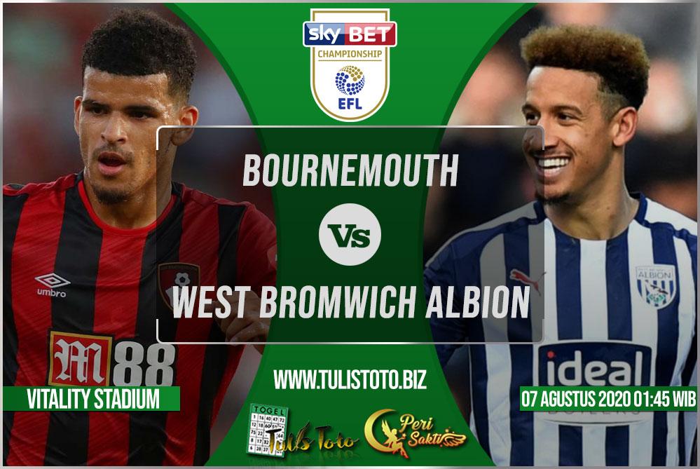 Prediksi Bournemouth vs West Bromwich Albion 07 Agustus 2021