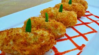 Resep Kroket Kentang isi Ayam