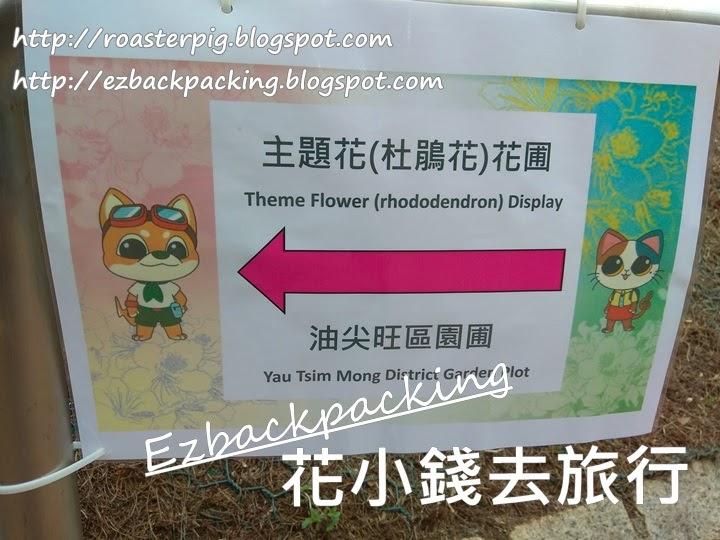 香港花展2021:九龍公園花卉展覽
