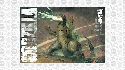 San Diego Comic-Con 2020 Exclusive Godzilla Screen Print by Kent Williams x Mondo