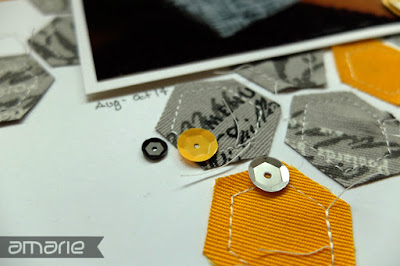 einfach amarie -  genähte tasche layout detail