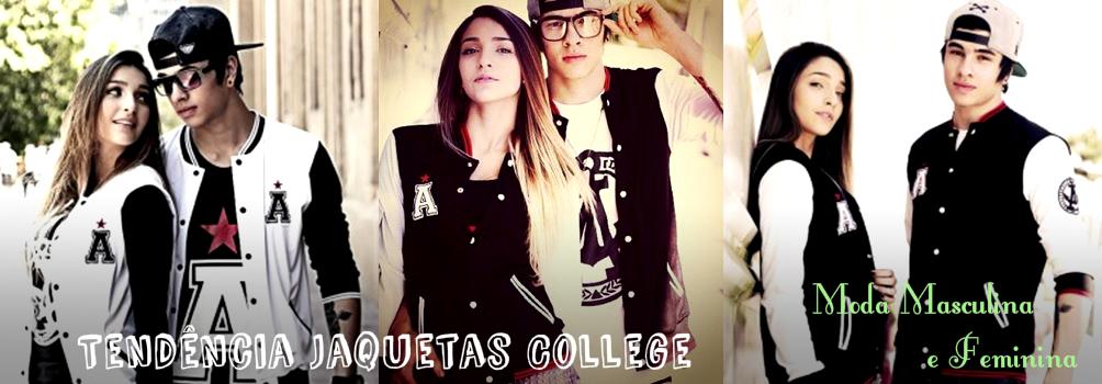 18ac46d64 TENDÊNCIAS  Tendência Jaquetas College  Moda Masculina e Feminina.