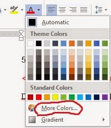 mencari kode warna