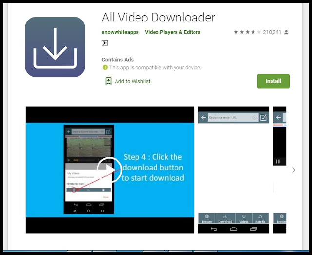 aplikasi download video dan gambar di ponsel