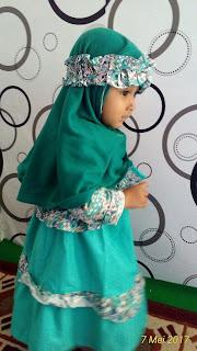 Hifzha Adiba Ultah Pertama 4 Mei 2017