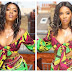 Tiwa Savage flaunts curves in sexy ankara outfit (Photos)