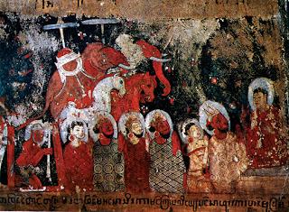 Bagan art Buddhist murals