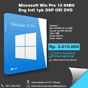 Produk Windows PT. Infra Solution International