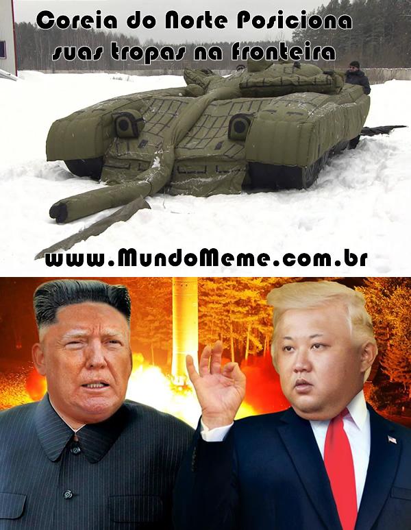 Coreia do norte reposiciona suas tropas