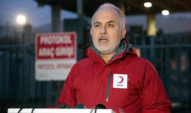 الهلال الأحمر التركي يوجه نداء عاجل للمواطنين في تركيا
