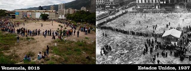 La fiesta lúgubre de la Gran Depresión de Venezuela