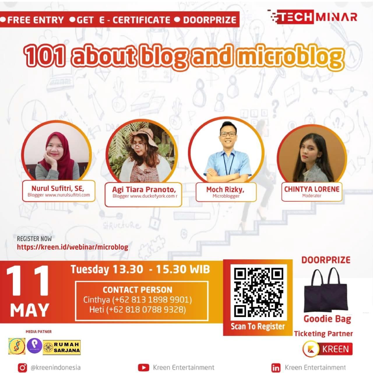 101 About Blog and Microblog Techminar Kreen Indonesia Nurul Sufitri Travel Lifestyle