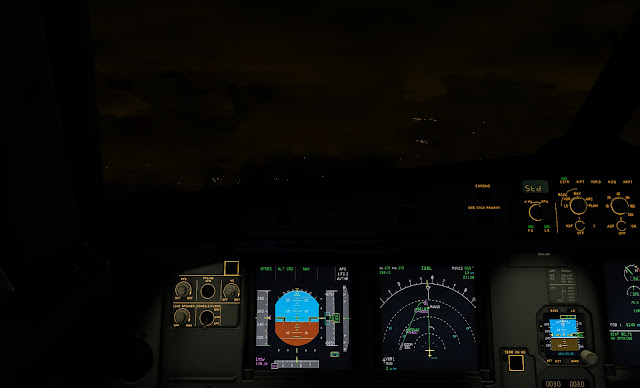 How to land the FlightFactor A320U managed with ILS