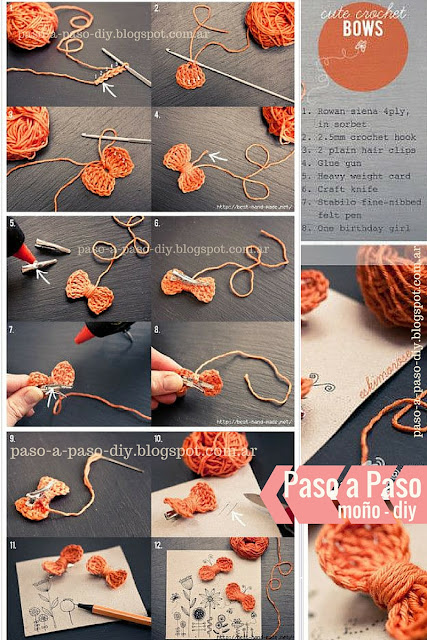 craft diy moño manualidades