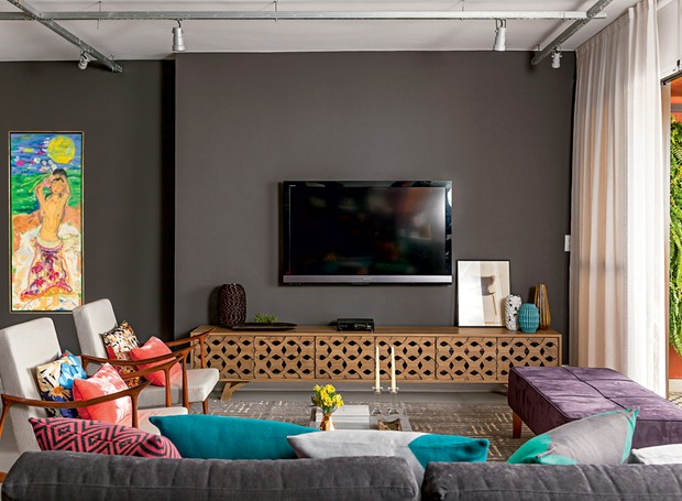 Sala Pequena Que Cor Pintar ~  cores para pintar sua sala Especial para minha cunhada Josi que quer