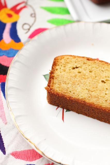 cake au citron entier et amandes