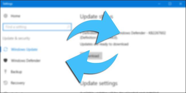 تغيير-نسبة-استهلاك-تحديثات-ويندوز-10-من-الانترنت-وجعله-أسرع
