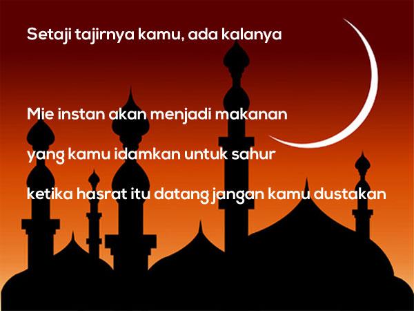 Gambar Kata Mutiara Islami versi Pepatah dan Petuah Lucu 4