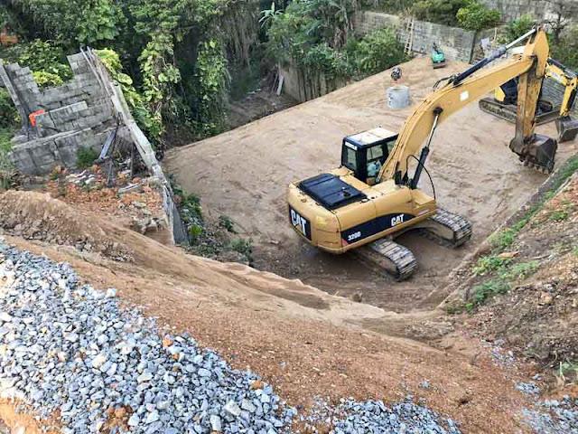 Caterpillar, construction, equipment, Okinawa