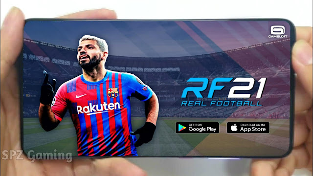 Download Real Football 2021 Android Offline 200 MB Best Graphics - RF 21 Mobile